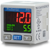 -14.5 to 145 PSI Range Digital Pressure Switch / Pressure Transmitter -- QPSH-AN-42