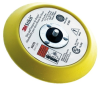 3M 05576 Medium Yellow Stikit PSA Disc Pad - 6 in Diameter - 5/16-24 External Thread Attachment -- 051144-05576 -- View Larger Image