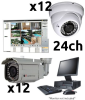 24 Channel Professional CCTV System