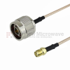 N Male to SMA Female Cable RG-316 Coax in 48 Inch and RoHS Compliant -- FMC0113315LF-48 -Image