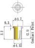 Thru Hole Short type, Round Socket Pin -- D3H-F17L22-GG - Image