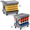 AKRO-MILS ProCart 24-Bin Utility Carts -- 5575518