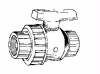Single Union Ball Valve Pool & Spa:Thread x Thread -- PT4-020 Thread x Thread -- View Larger Image