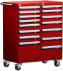 Mobile Compact Cabinet with Partitions -- L3BED-4003L3B -Image