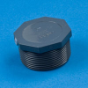 PVC Schedule 80 Threaded Plugs -- 27205 - Image