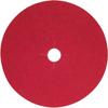 Norton Red Heat CA Coarse Paper Edger Disc - 66261055969 -- 66261055969 -Image