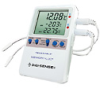 Digi-Sense Calibrated Data Logging Thermometer, Memory-Loc, 2 wire probe -- GO-94460-43