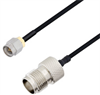 SMA Male to TNC Female Cable Assembly using LC085TBJ Coax, 3 FT -- LCCA30622-FT3 -- View Larger Image