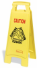Two-Sided Floor Safety Sign -- PLS720