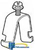 Erico One-Piece Strut Clamp (Pkg. 100) -- SCH8 -- View Larger Image