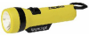 Economy Flashlight Yellow/Black Polypropylene D -- 03980000245-1 - Image