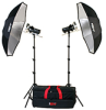 FL240K KIT: (DISCONTINUED) 2-LIGHT 640 WATT-SECOND MAXIMUM POWER STROBE KIT -- 401504