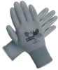 Coated Gloves,L,Gray,Polyurethane,PR -- 3RUL3