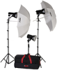 KQ83 KIT: 3-LIGHT 1800-WATT ULTRA QUARTZ LOCATION KIT -- 401452