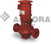 Series 911 - Single Stage Inline Fire Pump -- Model 383 -- View Larger Image