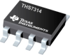 THS7314 3-Channel SDTV Video Amp with 5th Order Filter and 6-dB Gain -- THS7314D -Image