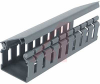Type H Wide Finger Slotted Duct, PVC,2in X 2in X 6ft,LGRY -- 70044196