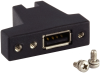 USB Panel Mount Adapter with SeaLATCH Type A Port -- SL-PM - Image