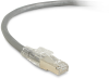 3FT Gray CAT6A 650MHz Patch Cable F/UTP CM Locking Snagless -- C6APC80S-GY-03 - Image