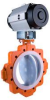 "Butterfly Valves -- 4"" XLD11 Wafer-Class 150 Lined Butterfly -- View Larger Image"