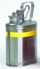 Eagle Silver Stainless Steel 1 gal Safety Can - 13 in Height - 6 in Overall Diameter - 048441-22632 -- 048441-22632 - Image