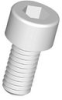 Socket Head Cap Screws - Plastic Standard Head -- SHSM8L16A -- View Larger Image