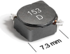 MSS7331 Series Shielded Surface Mount Power Inductors -- MSS7331-123 -Image