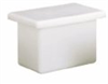 PP Rectangular Tank with Cover; 12 gallon, 24
