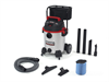 16 Gallon Industrial Stainless Steel Wet/Dry Vac with Cart