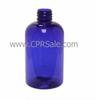 Plastic Bottle, HDPE, Cylinder, White, 16oz -- CPR01103W - 244100160 - Image