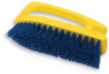 "Rubbermaid® Iron Handle Scrub Brush - 6"" L, Cobalt -- RCP6482"
