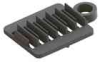 Fiber Clips - 6 or 12 Slot, 3mm or 1.2mm,Splice Holder -- OFSH-T-6-GFBLK -- View Larger Image