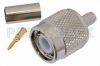 TNC Male Connector Crimp/Solder Attachment for RG59, RG62, RG71 -- PE4071 -Image