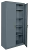 Storage Cabinet, Welded, Gray -- 5DCE0