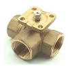 Brass Ball Valve -- s. 7441 3 Way Diverting