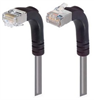 Category 5E Shielded Right Angle Patch Cable, Down/Right Angle Up, Gray 7.0 ft -- TRD815SRA4GRY-7 -Image