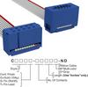 Rectangular Cable Assemblies -- C3AEG-1006G-ND -Image