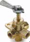 Ground Plug Shut Off Valves -- Four-way valve V407P
