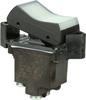TP Series Rocker Switch, 2 pole, 2 position, Screw terminal, Flush Panel Mounting -- 2TP1-2 - Image