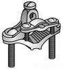 Conduit To Rod Clamp -- GCA-100-04B - Image