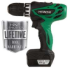 HITACHI 12 Volt Peak Lithium Ion Micro Driver Drill -- Model# DS10DFL