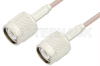 TNC Male to TNC Male Cable 36 Inch Length Using 75 Ohm RG179 Coax -- PE3430-36 -Image