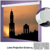 Spring-Roller Projection Screen For Wall Or Ceiling Mounting -- Luma with AutoReturn Roller