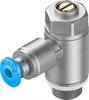 GRLA-1/8-QS-3-D One-way flow control valve -- 193142-Image