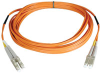 Duplex Multimode 62.5/125 Fiber Patch Cable (LC/LC), 30M (100-ft.) -- N320-30M