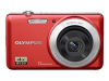 Olympus VG-110 Red 12mp 2.7in LCD Digital Camera - w/4x Zoom (27-108mm) -- 228170