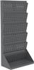 Floor Rack, Lean Panel Floor Rack, 1-Sided, Gray -- 30652