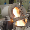 Inductotherm Small Steel Shell Furnace