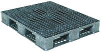 Plastic Pallet Double Deck Design -- 4183