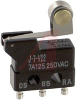 SWITCH,BASIC,ULTRA SUBMINIATURE,SHORT HINGE ROLLER LEVER,7A -- 70175724